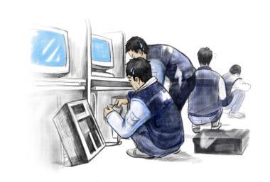 华硕商用潜山多媒体远程教学设备采购案例
