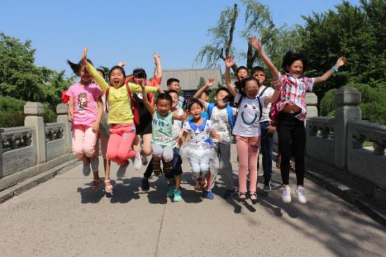 未来网、精锐教育牵手留守儿童圆梦北京